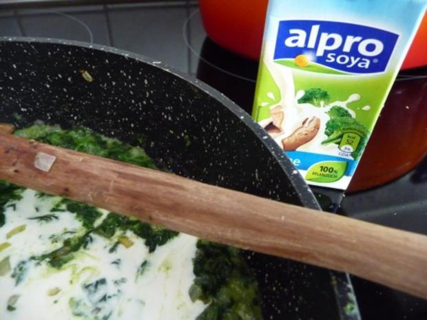 Pasta : Reisnudeln mit Spinat und Spiegeleier - Rezept - Bild Nr. 10