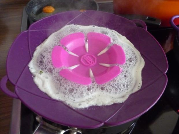 Pasta : Reisnudeln mit Spinat und Spiegeleier - Rezept - Bild Nr. 12