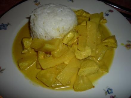 Grünes Thai-Curry - Rezept