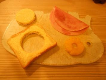 Rezept: Toast Hawai Doppeldecker