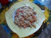 Penne mit Thunfischsauce - Rezept