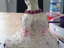 Barbie Torte ohne Marzipan/Fondant - Rezept