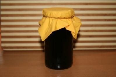 Fliederbeer-Apfel-Gelee - Rezept