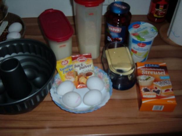 Kuchen : Kirsche - Schoko - Rezept - Bild Nr. 2