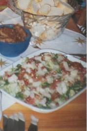 Rucola-Salat mit Granatapfel - Rezept