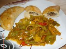 Türkische Teigtaschen (Pogaca) gefüllt mit Hackfleisch (mit Bildern) - Rezept