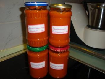Tomaten-Letscho- Sauce - Rezept