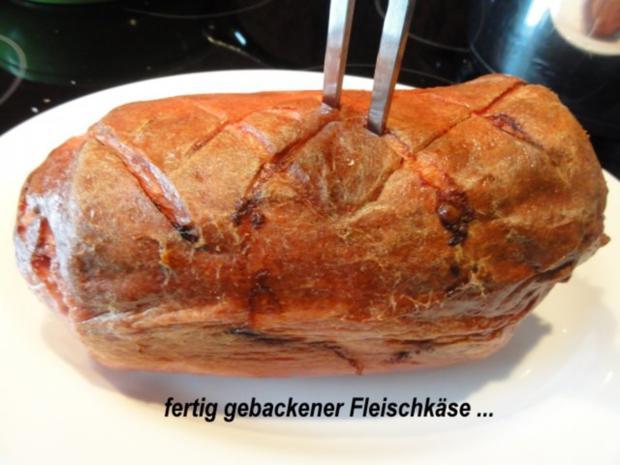 Fleisch:   FLEISCHKÄSE aus dem Ofen - Rezept - Bild Nr. 6