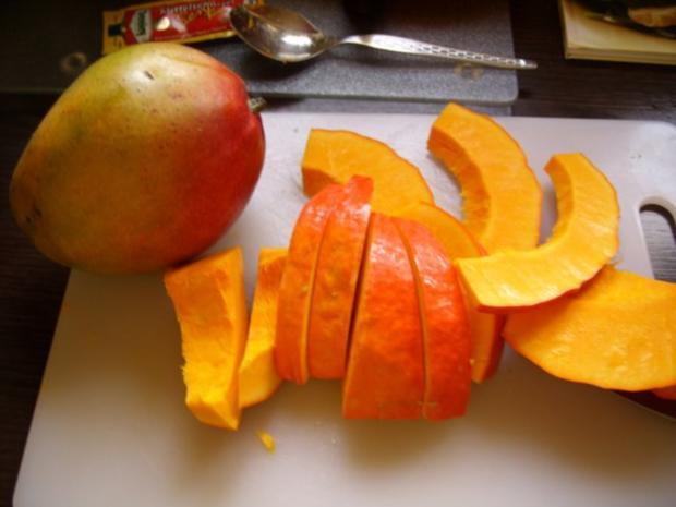 Kürbis - Mango - Suppe - Rezept - Bild Nr. 2