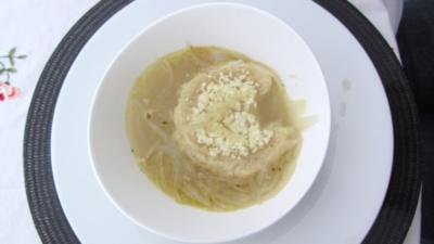 Zwiebelsuppe - Rezept
