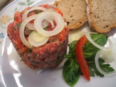 Fleisch: Kräuter-Tatar - Rezept