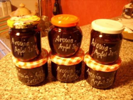 Konfitüre & Co: Aronia mit Apfel - Rezept