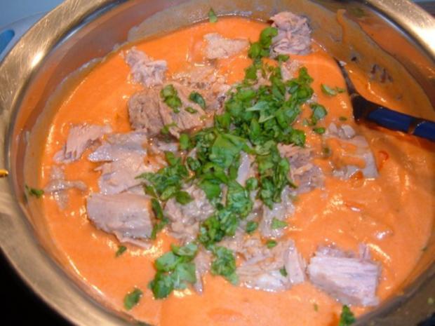 Fisch : 2erlei in Tomatensoße mit Pasta - Rezept - Bild Nr. 6