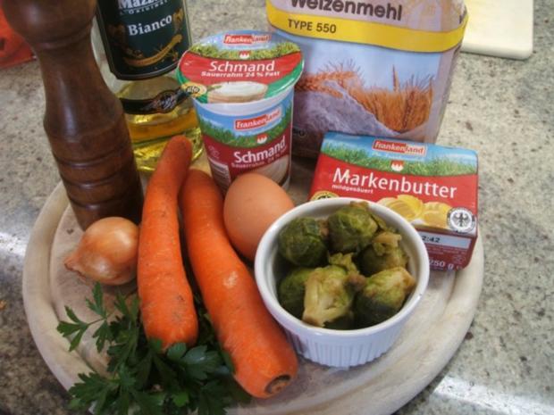 Quiche: Gemüse-Quiche - Rezept - Bild Nr. 3