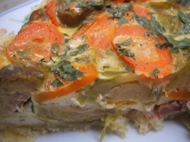 Quiche: Gemüse-Quiche - Rezept - Bild Nr. 2