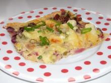 Snack/Vorspeise: Herbstliche Zwiebel-Apfel-Tarte - Rezept