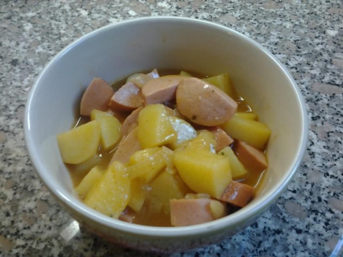 Cervelat-Gulasch - Rezept Gesendet von Burrita