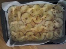 Apfelkuchen aus der Auflaufform - Rezept