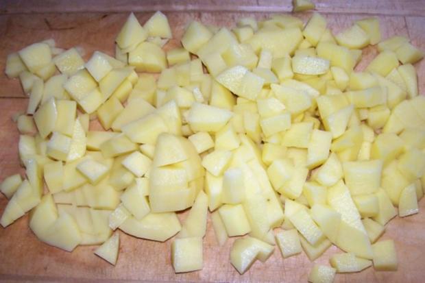 Deftiger Paprika-Rahm-Topf mit gebratenem Leberkäse - Rezept - Bild Nr. 6
