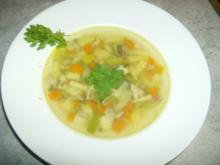 Gemüsesuppe ala Schneggal - Rezept