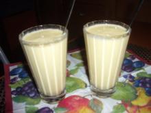 Mango -Rumfort - Shake   (ohne Alkohol) - Rezept