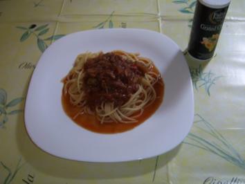 Tomaten-Paprika-Thunfischsauce - Rezept
