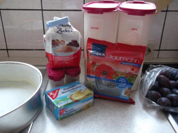 Zwetschgen-Mohn-Streusel Kuchen - Rezept - Bild Nr. 2