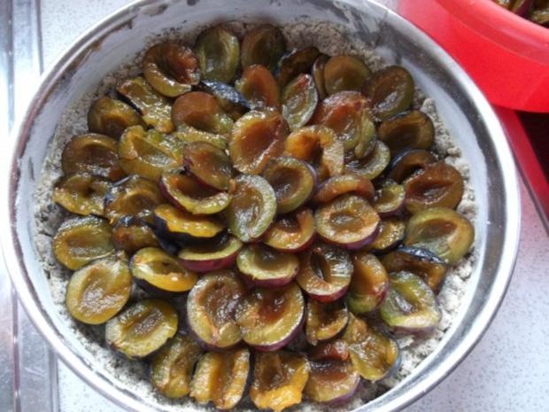 Zwetschgen-Mohn-Streusel Kuchen - Rezept - Bild Nr. 7