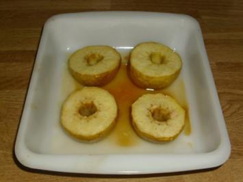 Honig Bratäpfel - Rezept