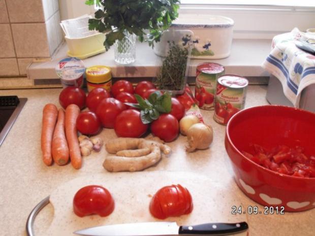 tomaten m hren creme suppe rezept mit bild. Black Bedroom Furniture Sets. Home Design Ideas