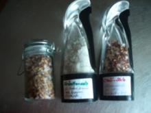Gewürzmischung - Chili-Gewürzsalz und Kräutersalz  für die mühle oder Mörser - Rezept