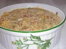 Beilagen: Pikante Schmorgurken-Pfanne mit cremiger Senfsoße - Rezept