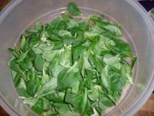 Hähnchen-Beine, Feldsalat & Backofen-pommes - Rezept