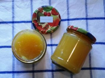 Mango-Birne-Apfel-Marmelade - Rezept