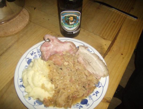 Oktoberfesthaxn Eisbein und Wammerl gekocht - Rezept