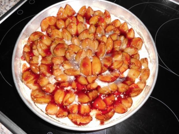 Torte-Pflaumen auf Mandel-Baiser gebettet>> - Rezept - Bild Nr. 6