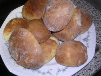 Süße Quarkbrötchen - Rezept