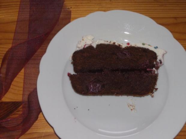 Backen Kuchen Schwarzwalder Schokoladenkuchen Rezept Kochbar De