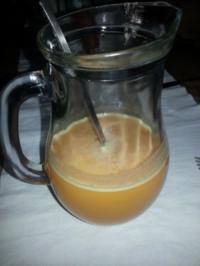 Cantaloupe-Orangen-Saft - Rezept