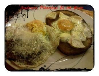 Abendbrot: Ei im Brot â la Gudrun - Rezept