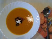 einfaches Hokkaido-Süppchen - Rezept