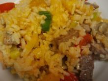 Paprika-Reis-Pfanne - Rezept