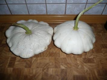 Patisson - Kürbis- Schnitzel - Rezept