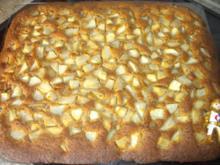 backen / Kuchen: Eierlikör - Birnenkuchen - Rezept