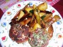 Bouletten mit Petersiliensosse und gebratenem Kohlrabigemüse - Rezept