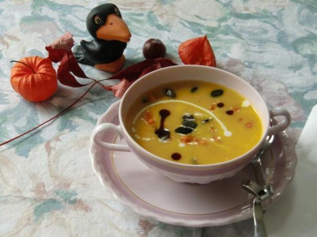 Kürbissuppe mit Porree - Rezept