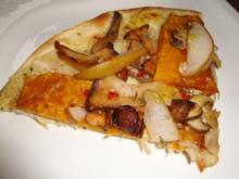 Herbstlicher Flammkuchen - Rezept