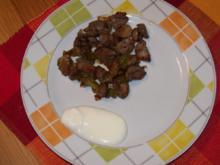 Hähnchenherzen - Rezept