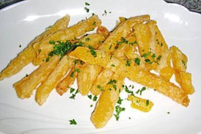 Kürbis Frites - Rezept