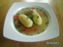 Grießnockerlsuppe - Rezept